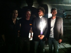 Résidence à la Distillerie Aubagne décembre 2013 avec Yvi Slan
